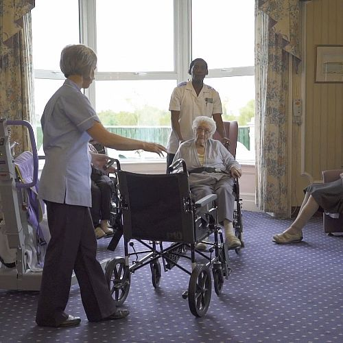 Prospect Private Nursing Home staff and residents