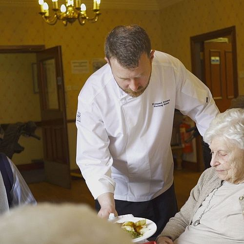 Prospect Private Nursing Home dining